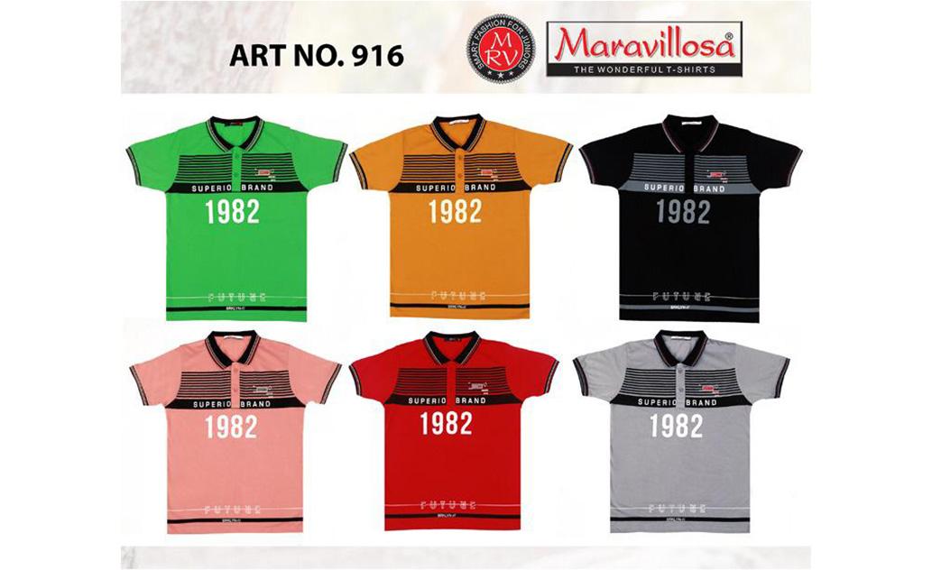 Maravillosa 916 Collar H/S T-Shirt