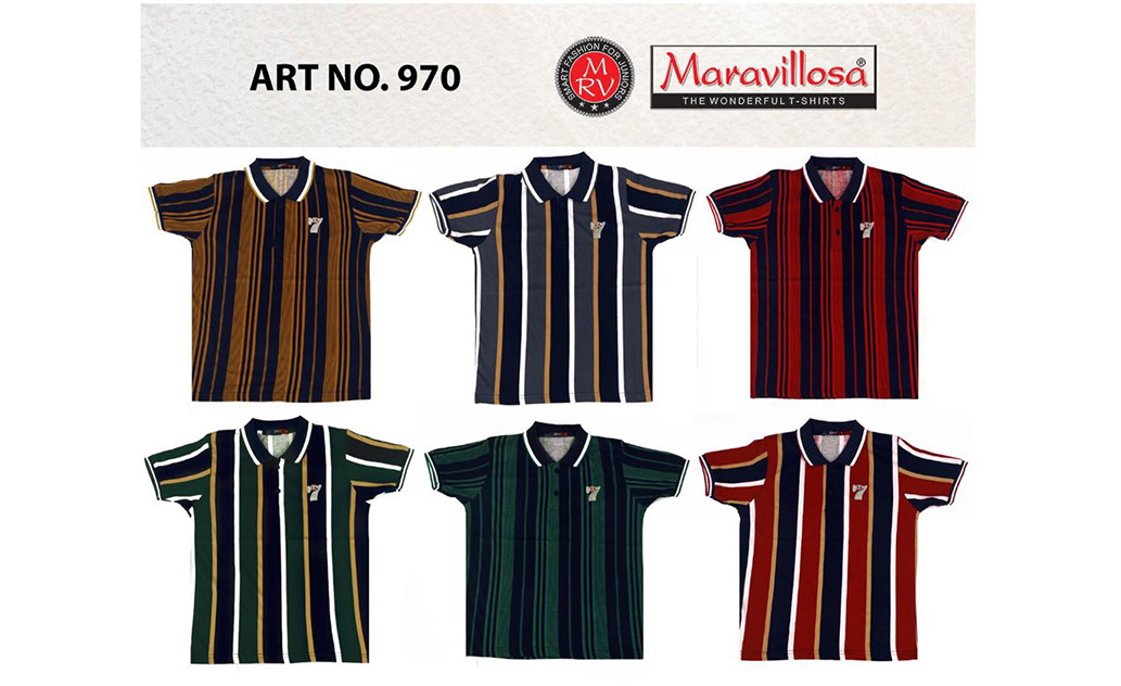 Maravillosa 970 Collar H/S T-Shirt